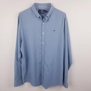 Vineyard Vines Gingham Slim Fit Whale Shirt